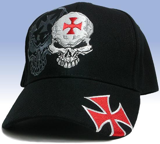 帽子のドクロマーク